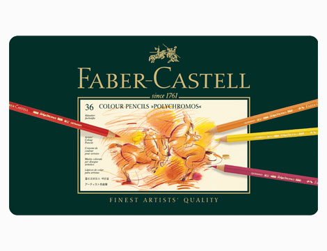 Astuccio Faber-Castell 36 matite colorate polychromos