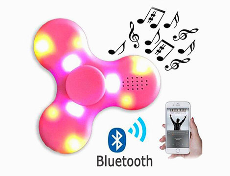 Fidget spinner con MP3 musicale_N