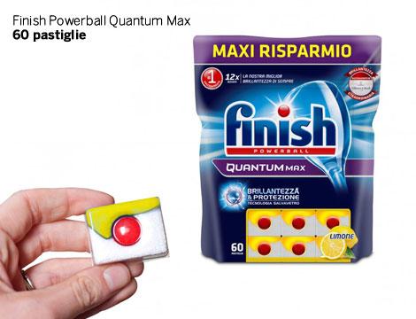 Finish Pastiglie e Quantum Max_N
