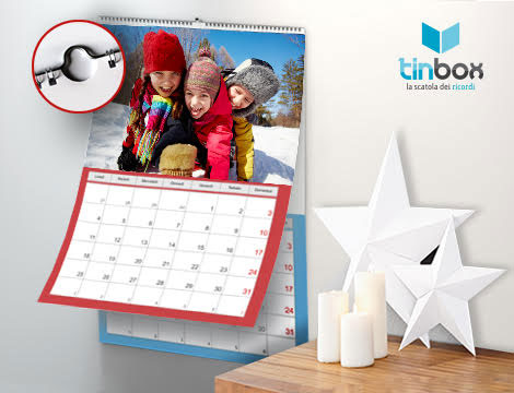Fino a 10 maxi calendari personalizzati