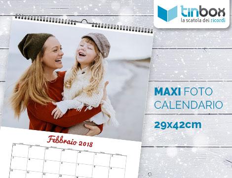 Maxi fotocalendario personalizzato_N