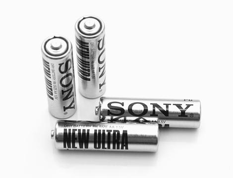 Fino a 100 pile Sony