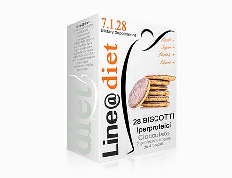 Fino a 140 biscotti iperproteici lowcarb