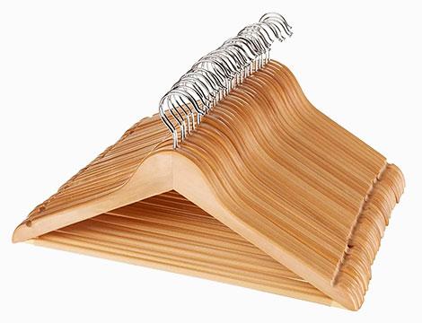 Fino a 20 grucce legno d'acero
