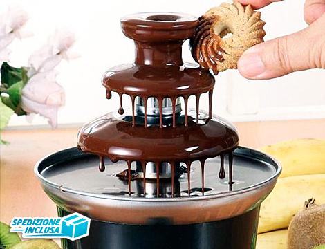 Fontana di cioccolato a 3 piani