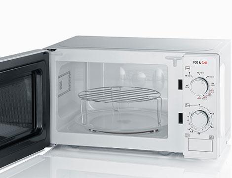 Forno a microonde con funzione grill 2in1 Severin bianco MW 7891
