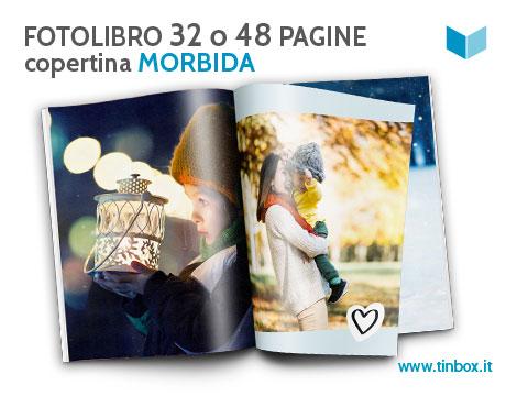 Fotolibro 32 o 48 pagine copertina morbida