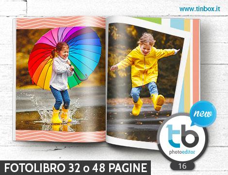 Fotolibro personalizzato 32 o 48 pagine
