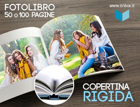 Fotolibro 50 o 100 pagine copertina rigida