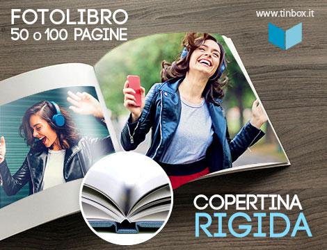 Fotolibro personalizzato 50 o 100 pagine