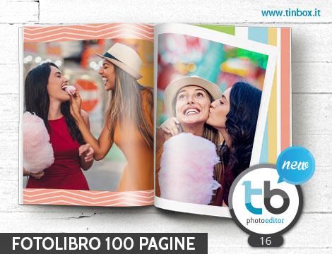 Fotolibro rilegato 100 pagine_N