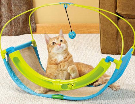 Gioco a dondolo per gatti_N