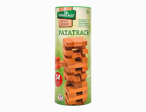 Gioco in legno Patatrack 54 pz in tubo 40312