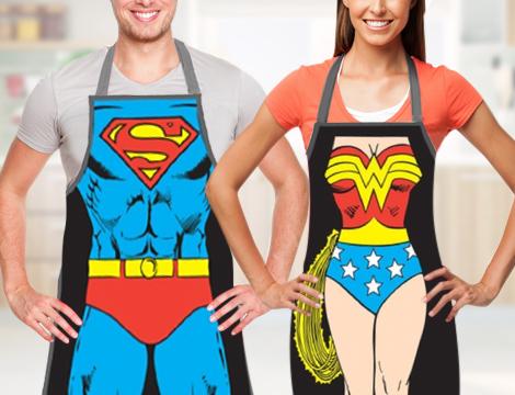 Grembiuli cucina supereroi