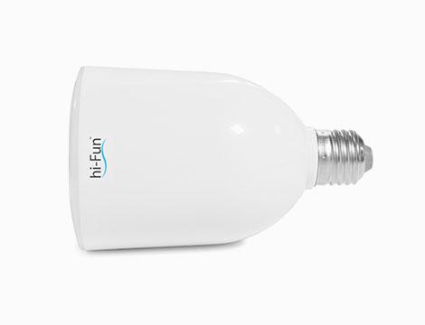 Hi-Led Light Bulb speaker bluetooth_N