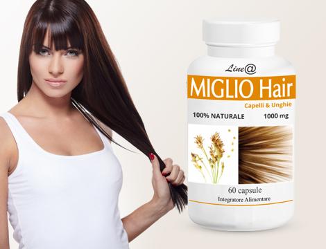 Integratore al miglio crescita capelli