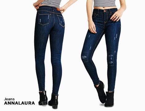 Jeans Donna Vita Alta_N
