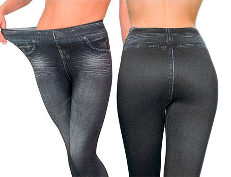 Slim fit jeans leggings push up NERI _N