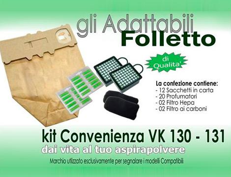 Kit Folletto compatibile