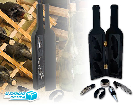 Kit accessori per vino_N
