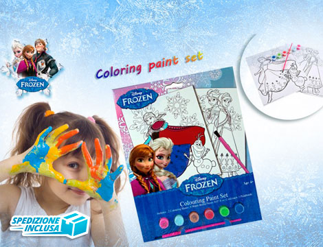 Kit disegna e colora Frozen_N