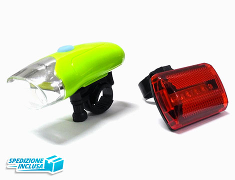 Kit Luci e LED Bici_N