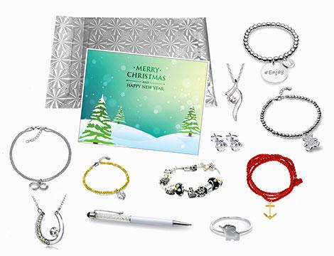 Kit regalo di Natale con 11 gioielli di 5Chic