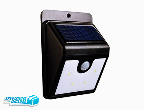 Lampada Led ad energia solare_N