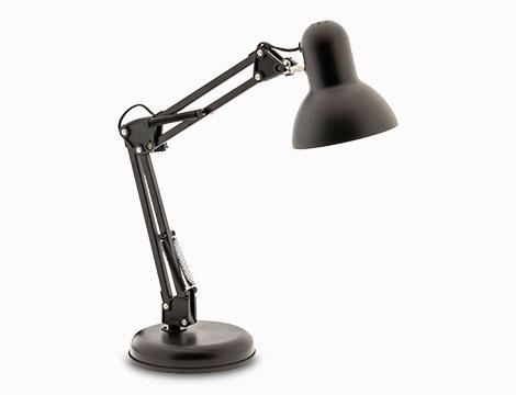 Lampada da tavolo snodabile
