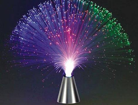 Lampada in fibra ottica_N