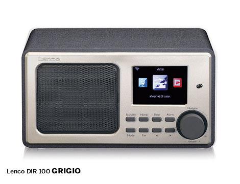 Lenco DIR-100 radio internet mp3_N