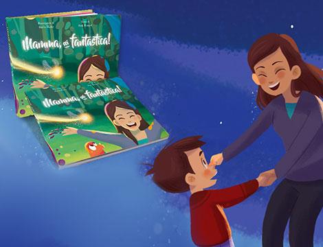 Libro personalizzato Festa della mamma_N