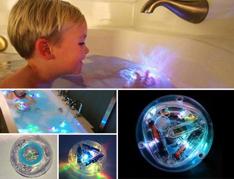 Luce LED per bagnetto bimbi