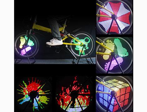 48 o 128 luci LED da bici_N