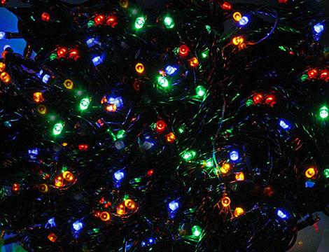 Luci Natale a led varie metrature