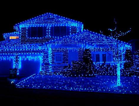 Luci natalizie interno o esterno