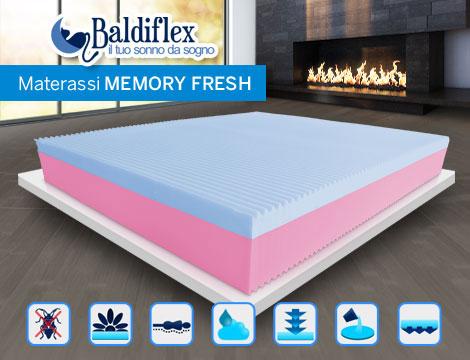 Materassi Baldiflex in memory fresh