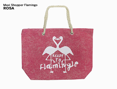 Maxi Shopper Flamingo_N