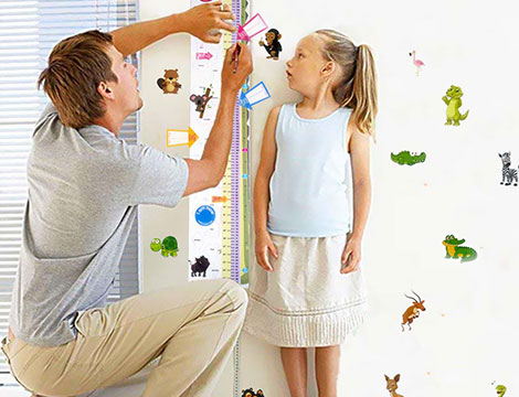 Metro da parete per l'infanzia