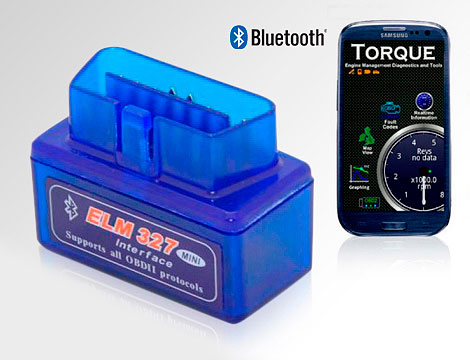 Mini Scanner Bluetooth per auto