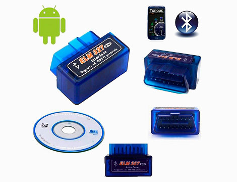 Mini Scanner Bluetooth per auto