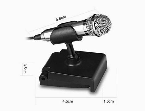 Mini microfono da PC