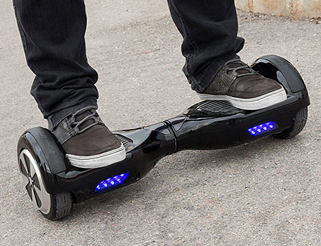 Mini scooter elettrico Rover Droid_N