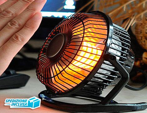 Mini Termo ventilatore da tavolo_N