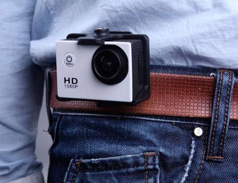 Mini videocamera sport con accessori_N