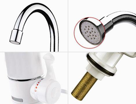 Miscelatore elettrico acqua calda