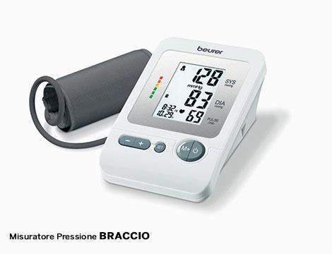 Misuratore pressione polso o braccio Beurer_N