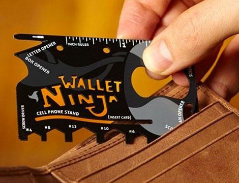 Ninja Wallet mulituso GRATIS_N