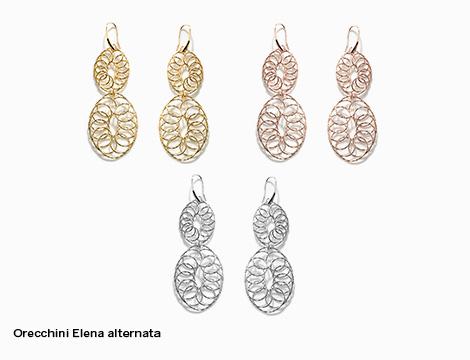 Orecchini doppio pendente DiLey Elena