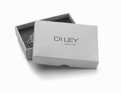 Orecchini doppio pendente DiLey confezione